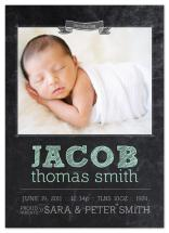 Chalkboard Baby Birth A... by east and twelve