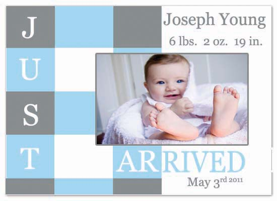 birth announcements - Just Arrived by Tashandia McCoy