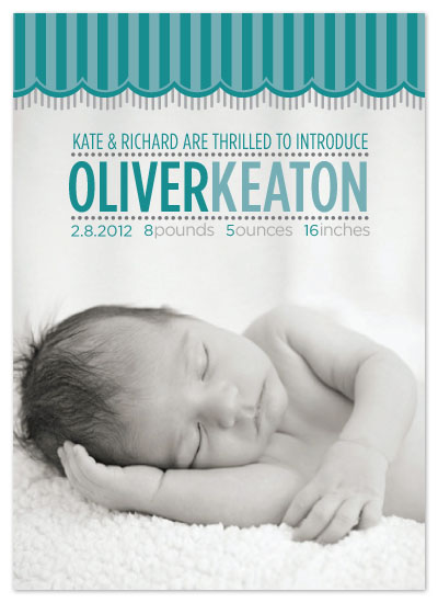birth announcements - A Sweet Showing by Kate Albie Armstrong