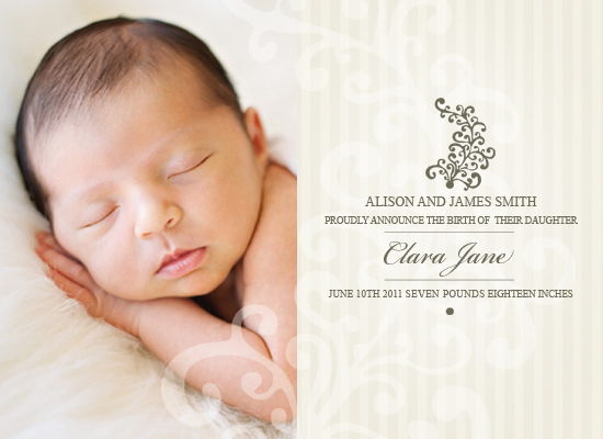 birth announcements - As Simple As That by Alice Schindler
