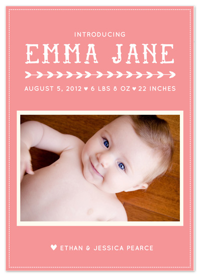 birth announcements - Lullaby Birth Announcement by Morgan Rapp