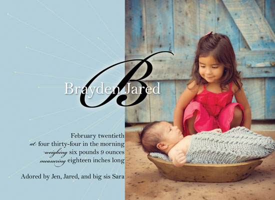 birth announcements - Heaven Sent by Kelli Despain