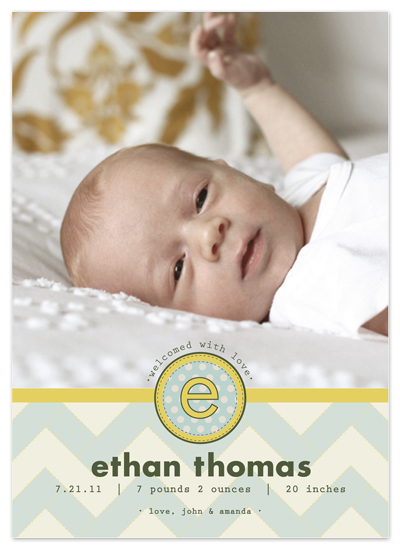 birth announcements - Little