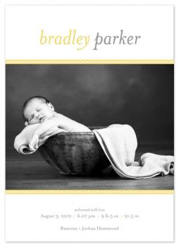 bordered baby