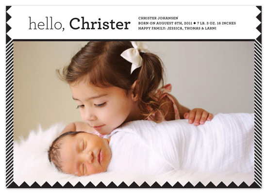 birth announcements - New line by MengStudio