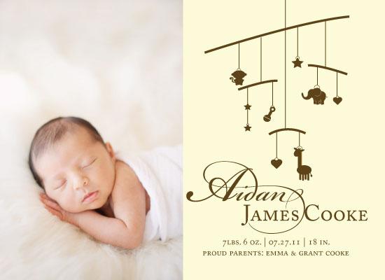 birth announcements - Sweet Dreams by Ashley Szeto