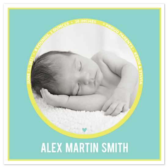 birth announcements - Submarine Window by Christina Flowers