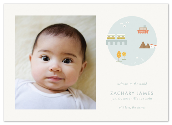 birth announcements - welcome to the world by nocciola design