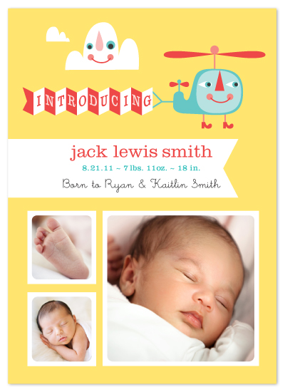 birth announcements - eray_mr_helicopter by ERAY