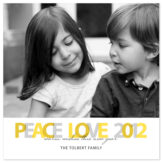 cards - Peace Love New Year by SimpleTe Design