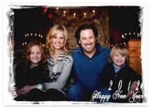 new year holiday card by designcraft