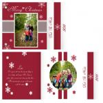 Cranberry Snowy Christm... by Pink Creative Design