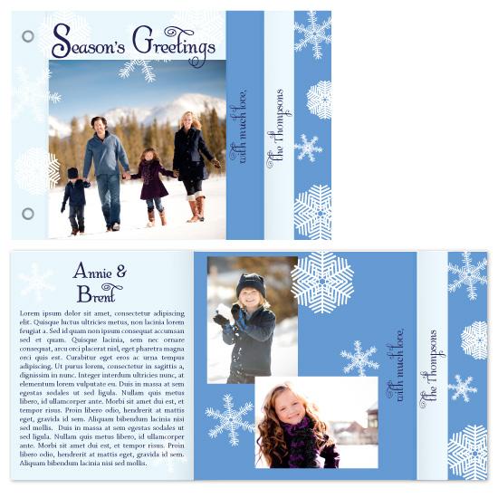 cards - snowflake wonderland by Elizabeth Harris