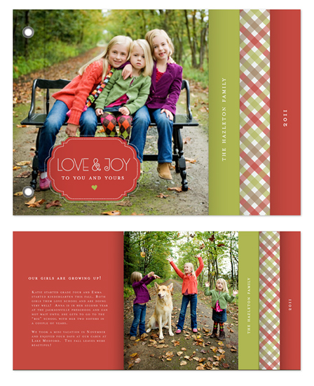 cards - Holiday Gingham by Melanie Severin