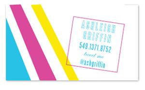 business cards - Mod Chick by Seven Design Boutique