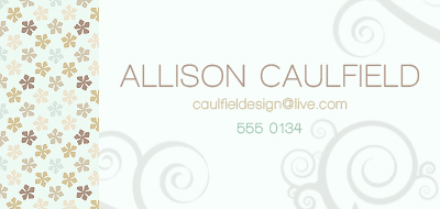 business cards - Little things by Allison Caulfield