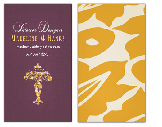 business cards - Interior Antiquity by Raybo Design
