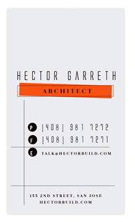 business cards - structured by chocomocacino