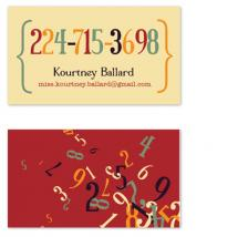 Kourtney's Digits by Mary Anderson Design