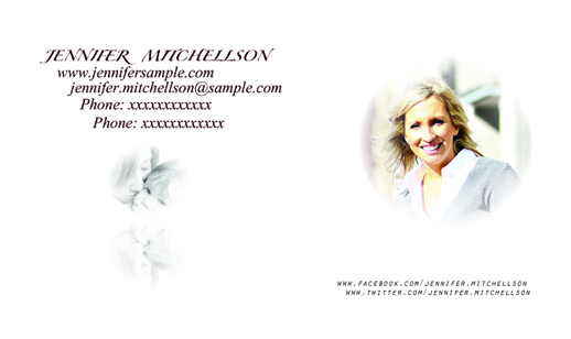 business cards - Simple by Anoop