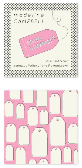 business cards - Sassy Seamstress by Nightingale Press
