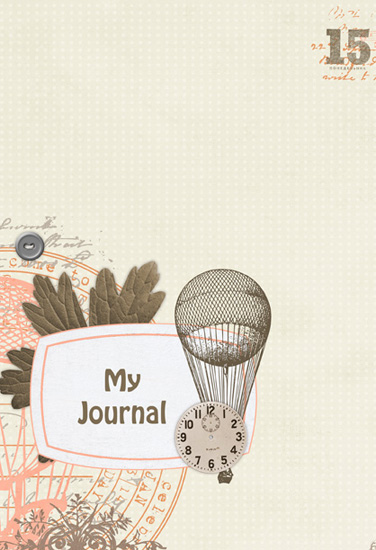 journals - Up and Away by Amy Teets