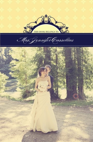 journals - A Newlywed's Thoughts by Invites by Jen