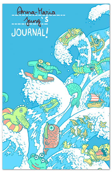 journals - Little Water Lovers by Anna-Maria Jung