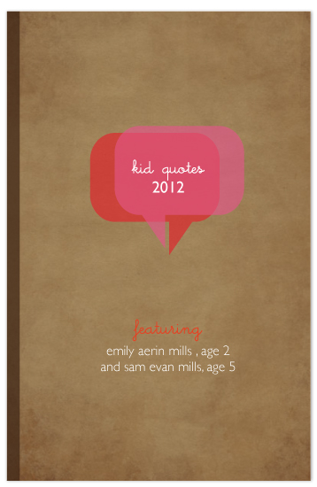 journals - kid quotes by Up Up Creative