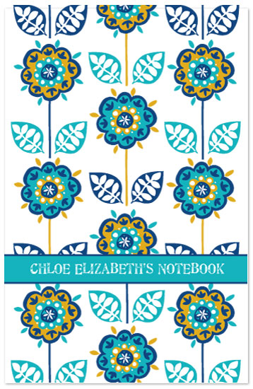journals - Graphic Floral by Jessica Hogarth