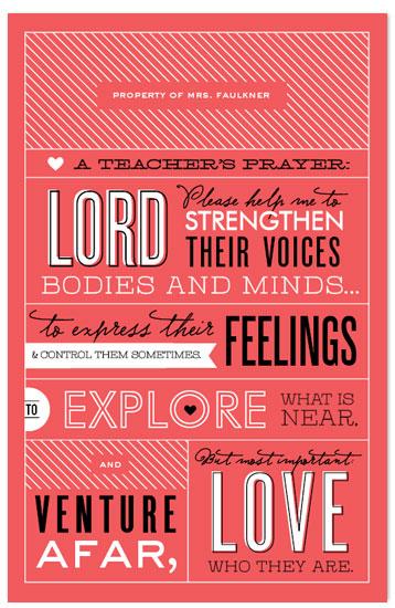journals - A Teacher's Prayer by Cheer Up Press