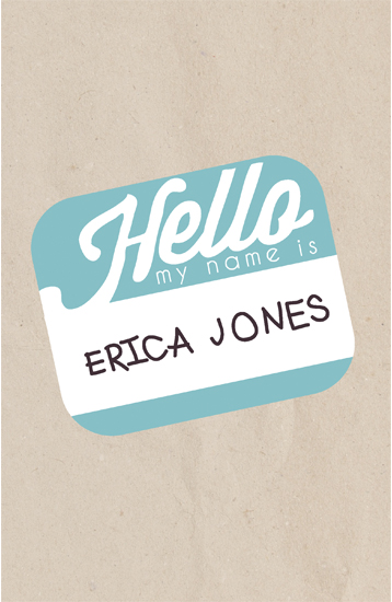 journals - Hello My Name is.... by 17th Street Designs