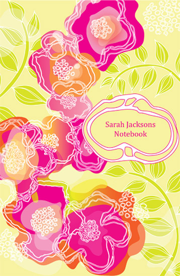 journals - pink blossom by Valley design