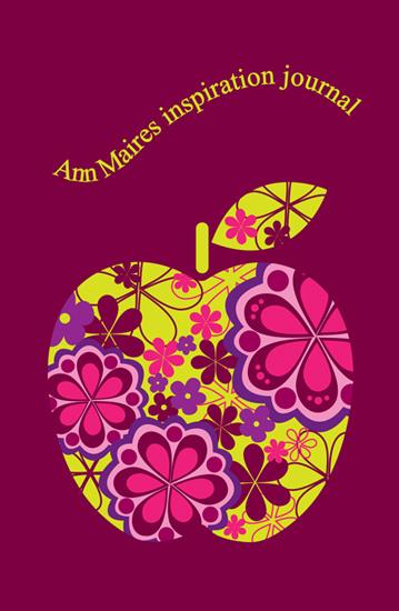 journals - Retro apple by Valley design