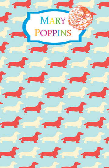 journals - Preppy Puppies Second Colourway by Sarah Kerr