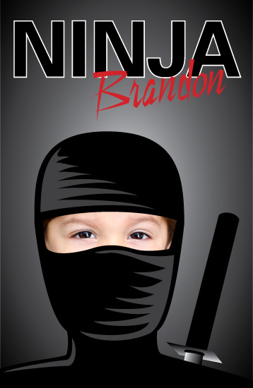 journals - Ninja by Jen Jackson