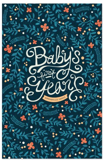 journals - First Year Florals by Kristen Smith