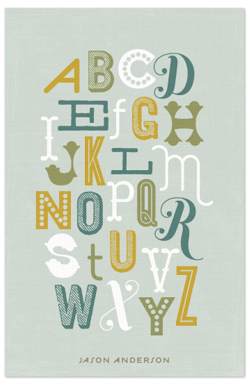 journals - Alphabet by Lauren Chism