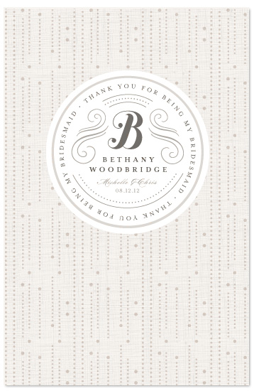journals - Wedding Day Thank Yous by Kristen Smith