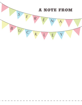 personal stationery - Big Top by KCB Design