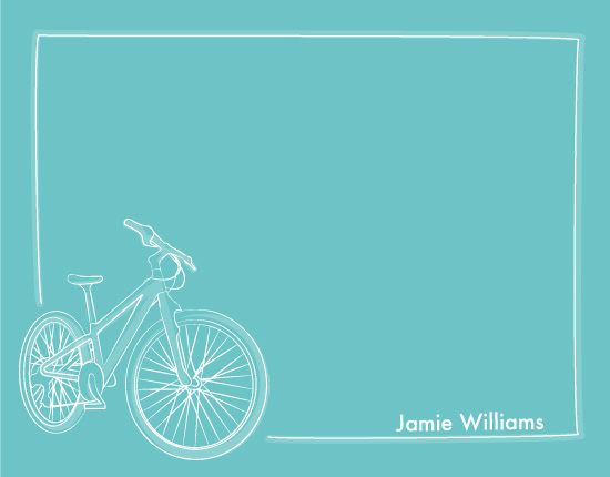 personal stationery - Ride My Bike by Debbie Daley