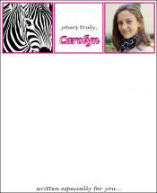 zebra girl by d greene