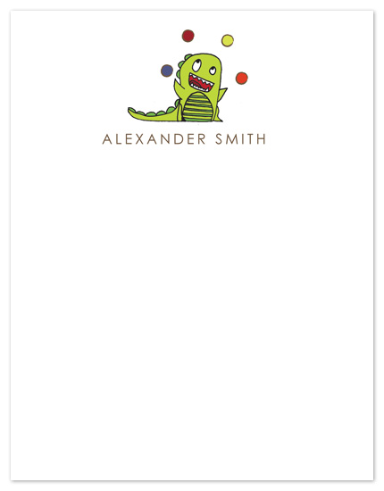 personal stationery - Little Monsters by 17th Street Designs