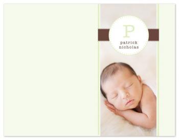 babys first letter