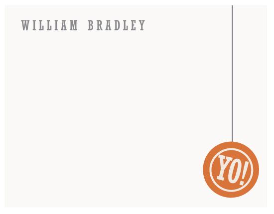 personal stationery - Yo! by Rodney Jones
