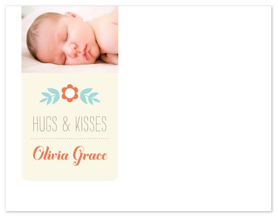 personal stationery - Olivia Baby by Kelly Nasuta