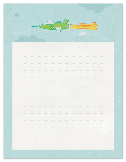 personal stationery - high flyer by nocciola design