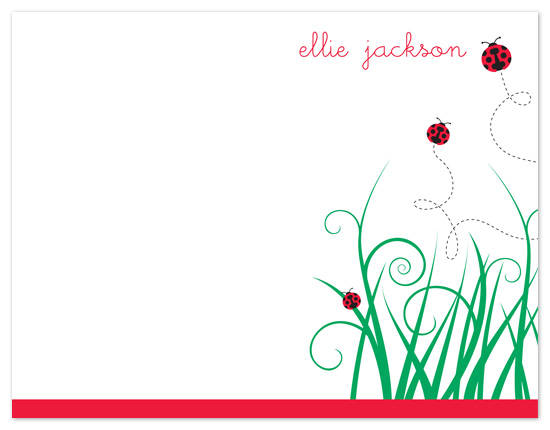 personal stationery - Lady Notes by Jill Zielinski Designs