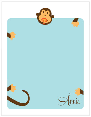 personal stationery - Big Hug by Malty Designs