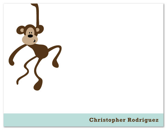 personal stationery - Monkey See Monkey Do by Nicki Davis